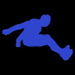 Jersey largo masculino azul
