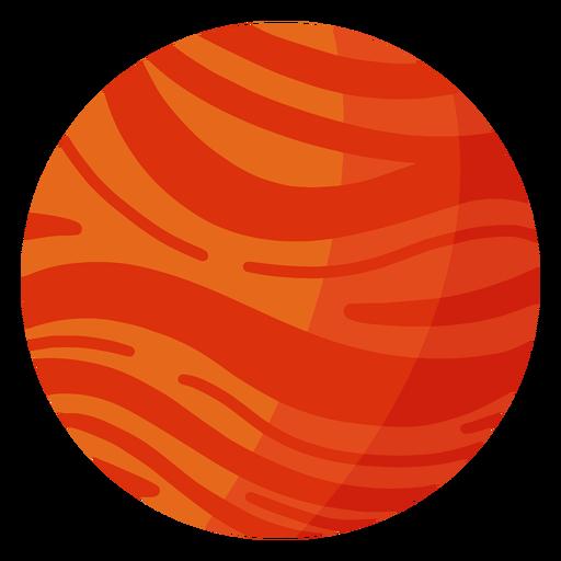 Mars planet illustration