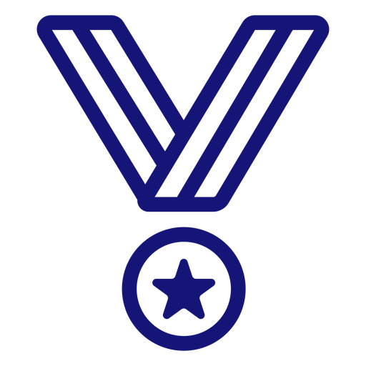 Medal of honor icon stroke