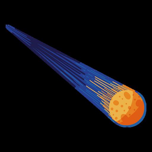 Ilustración en órbita de meteoritos Transparent PNG