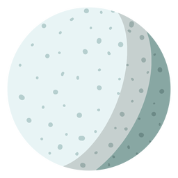 Moon satelite illustration