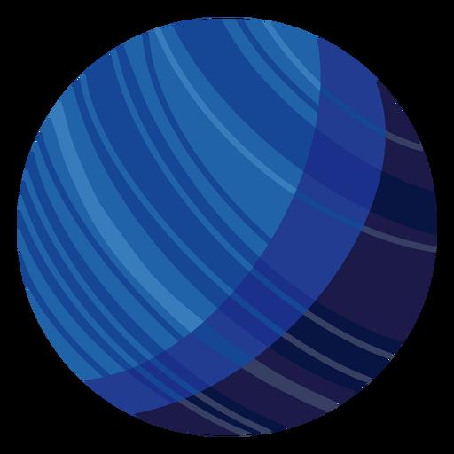 Ilustración del planeta Neptuno Transparent PNG