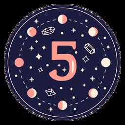 Bandeira mágica número 5