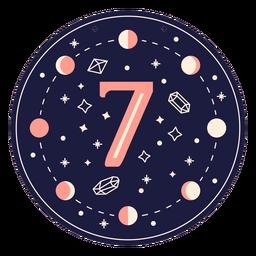Bandera mágica número 7