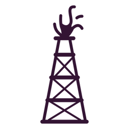 Golpe de torre de petróleo