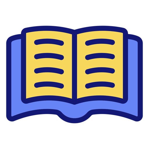 Ícone de livro aberto ícone de livro