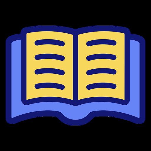 Icono de libro abierto icono de libro