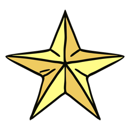 Ilustración de estrella de mar de origami