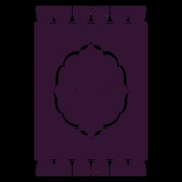 Perserteppich schwarz