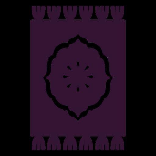Alfombra Persa Negra