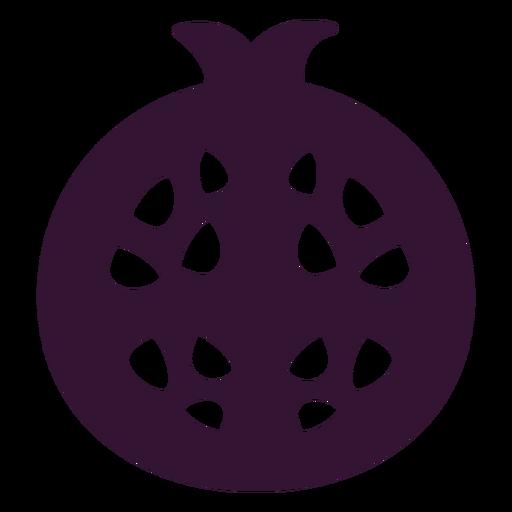 Pomegranate fruit black