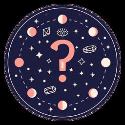 Fragezeichen magisches Banner