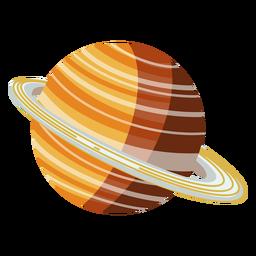 Ilustração do planeta Saturno
