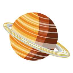 Saturn planet illustration