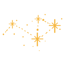 Estrelas brilhando