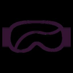 Curso de óculos de esqui