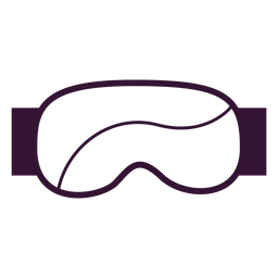 Ski goggles stroke