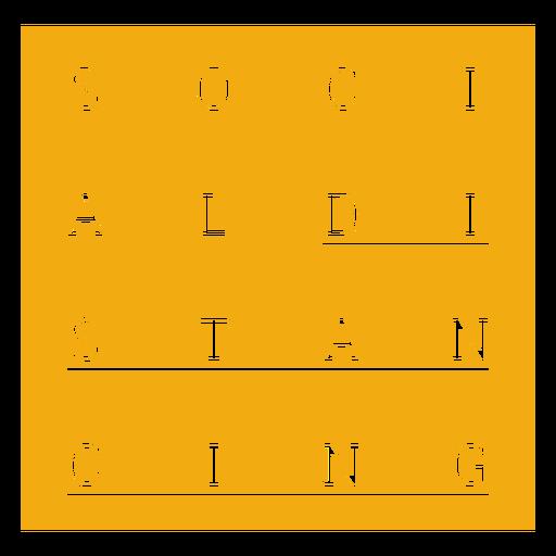 Distintivo de distanciamento social