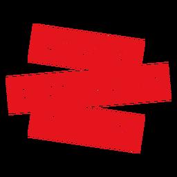 Distintivo de campeão de distanciamento social
