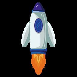 Cohete espacial ilustración cohete