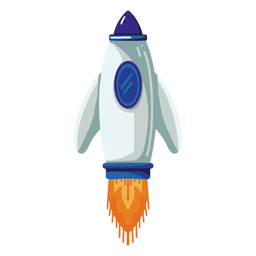 Space rocket illustration rocket
