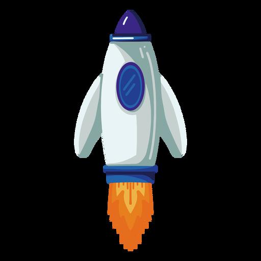 Ilustración de cohete espacial cohete