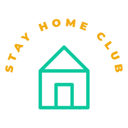 Insignia del club Stay Home