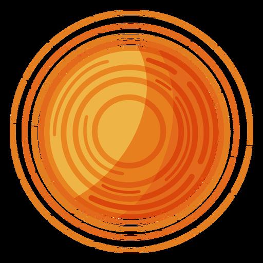 Ilustración de estrella sol Transparent PNG