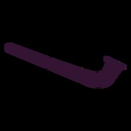 Tubo suizo negro