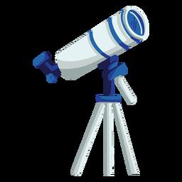 Ilustração de dispositivo de telescópio