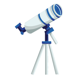 Ilustración de dispositivo de telescopio
