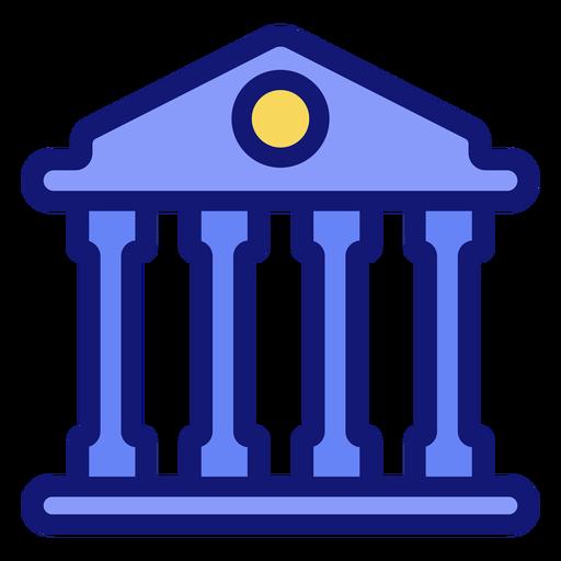 University building icon Transparent PNG