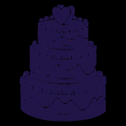 Wedding Cake Blue Transparent Png Svg Vector File