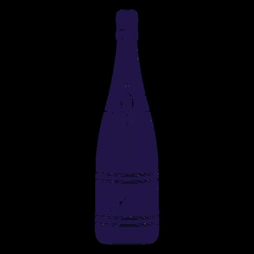 Wedding champagne blue Transparent PNG