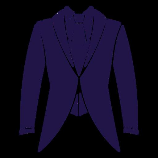 Wedding suit blue Transparent PNG