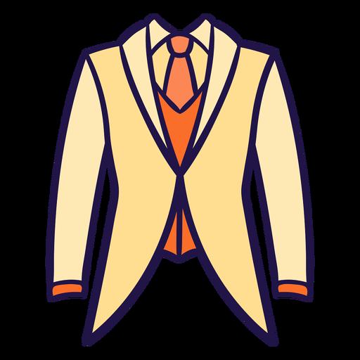 Wedding suit flat Transparent PNG