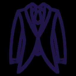 Wedding suit stroke