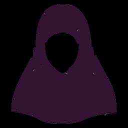 Hijab mujer negro
