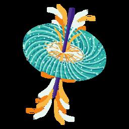 Ilustración de agujero de gusano
