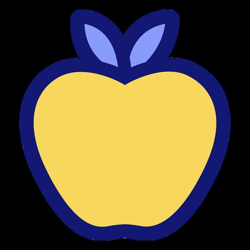 Yellow apple icon