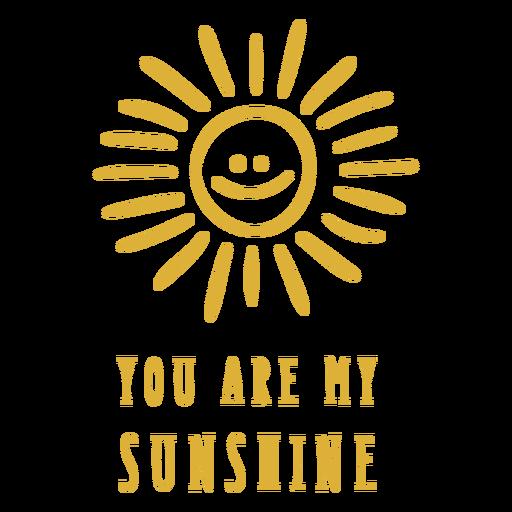 Eres mi insignia de sol