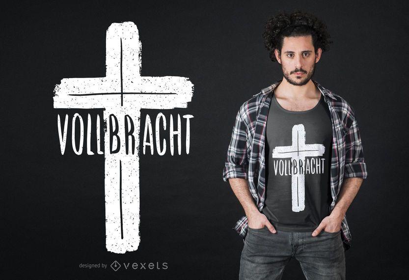 Projeto transversal do t-shirt de Vollbracth