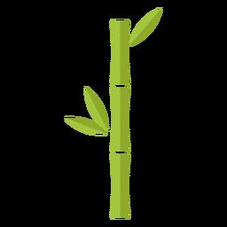 Bambus hellgrün einzelnes Symbol