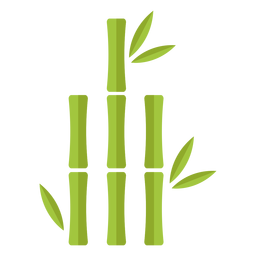 Bamboo Light Green Two Straight Icon Transparent Png Svg Vector File