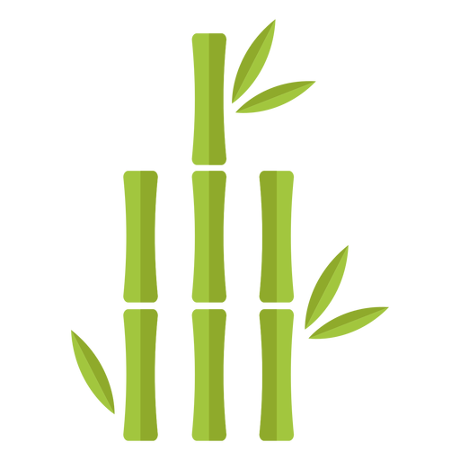 Bamboo light green three close icon Transparent PNG