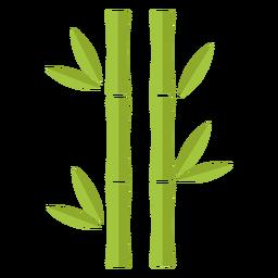 Bambus hellgrün zwei identische Ikone