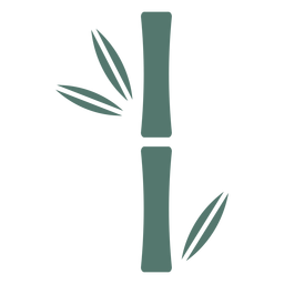 Bamboo stick single thick icon