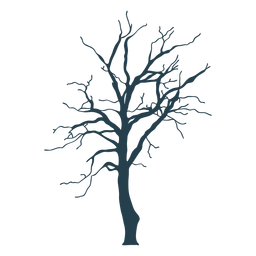 Bare tree simple stroke