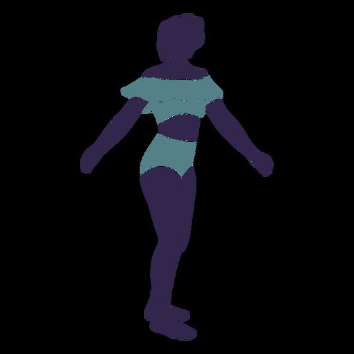 Bikini girl right facing Transparent PNG