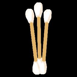 Auriculares planos para el cuidado del cuerpo
